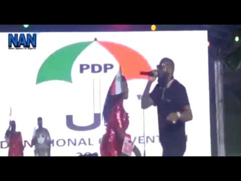 Sani Danja, Davido Perform At PDP Convention In Port Harcourt