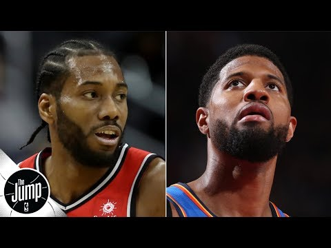 Video: Picking the East and West favorites now that Kawhi and Paul George are Clippers | The Jump