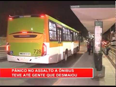 [RONDA GERAL] Pânico durante a assalto a ônibus da linha Jardim Brasil II/Rio Doce