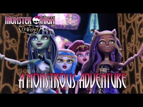 Monster High 13 Wishes - Wii/Wii U/DS/3DS - A monstrous adventure (Trailer)