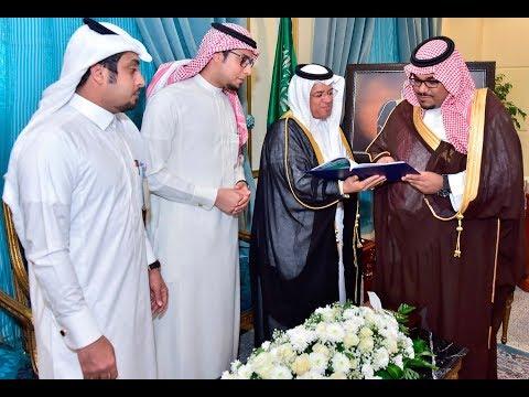 نائب أمير نجران الأمير تركي بن هذلول يلتقي رئيس أدبي نجران