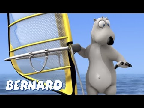 Bernard Bear | Windsurfing AND MORE | 30 min Compilation | Cartoons for Children