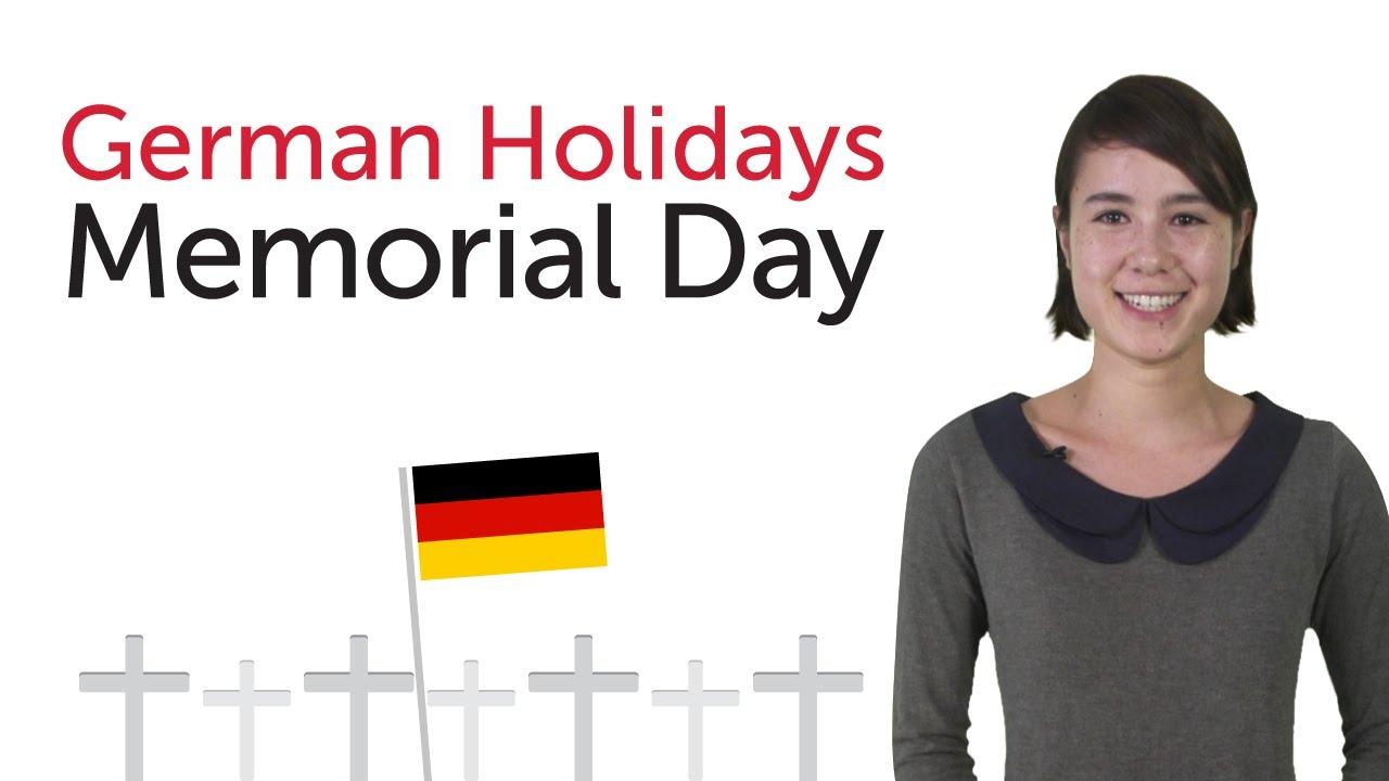German Holidays – Volkstrauertag (German Memorial day)