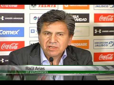 Raúl Arias en Estudiantes Tecos