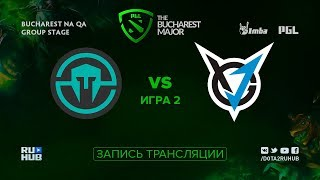 Immortals vs VGJ Storm, PGL Major NA, game 2 [Maelstorm, Inmate]