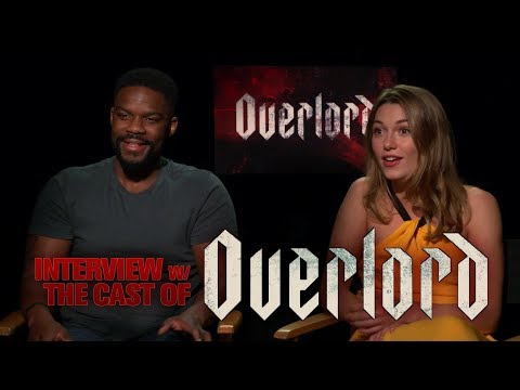 OVERLORD -  Cast Interview with Jovan Adepo & Mathilde Ollivier