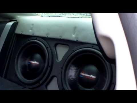 Honda Civic with 2 AB XFL 15s