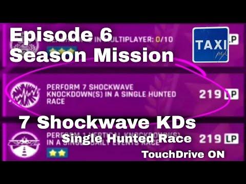 Asphalt 9 - Perform 7 Shockwave Knockdowns in a Single Hunted Race - Season Mission - TD Guide