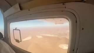 Idealny moment na zrobienie zdjęcia z samolotu