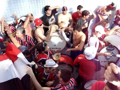 Video - Newells vs Chacarita - Entra la banda - La Famosa Banda de San Martin - Chacarita Juniors - Argentina