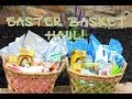 Easter Basket Haul | Brooklyn and Bailey