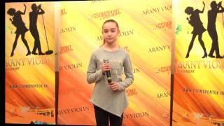 Arany Violin: a verseny élesedik