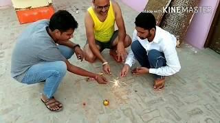 diwali ne bjaya ajeeb patakha....by vikrant gaur comedy