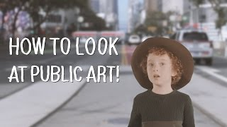Click for more Art School: https://wp.me/p4AWsA-fsHave you ever wondered about the public art you see around town? Do you know how to find the meaning of outdoor sculptures and paintings? Join an adorable six-year-old host on a journey to discover monumental public artworks throughout San Francisco. Public art is all around us, but sometimes we don't even notice it! Get some insight about the famed Bow and Arrow by the bay by artists Claes Oldenburg and Coosje Van Bruggen, and Ruth Asawa's bay-framing fountain sculpture across the street. Then grab your hiking boots and head for the woods to see Andy Goldsworthy's all-natural installations in The Presidio. Learn how to read these public artworks and many more, brought to you by the cutest curator in town. Do you have a favorite public artwork in your town? Snap a photo and share it with us on Twitter @KQEDArtSchool. Artwork credits in order of appearance: Alan FlemingKeith HaringClarion Alley Mural ProjectJosué RojasArmand VaillancourtPrecita Eyes, Cory Calandra, Laura Campos, Brenda Miller and Patricia Rose Mark di Suvero Sirron Norris Guarina Lopez Tony Bennett/Hearts in San FranciscoClaes Oldenburg and Coosje van Bruggen, Cupid's SpanRuth Asawa, AuroraLawrence NobleLawrence Halprin Ruth Asawa, AuroraAndy Goldsworthy/For-Site Foundation, SpireKristin FarrChris Johanson/SFMOMABrian Goggin and Dorka KeehnHung YiGeorge Warren RickeyUgo RondinoneHenry Moore Andy Goldsworthy/For-Site Foundation, WoodlineColette Crutcher Clarion Alley Mural ProjectSan Francisco Student Artwork/Powell Street BART StationClarion Alley Mural ProjectAndy Goldsworthy/For-Site Foundation, Woodline