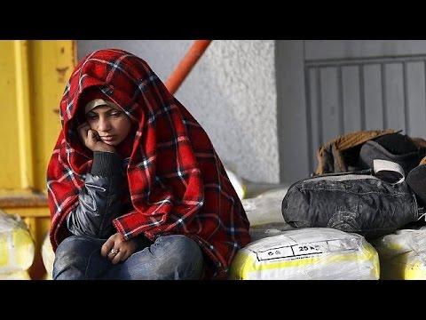 Αμείωτη η ροή προσφύγων παρά την έλευση του χειμώνα