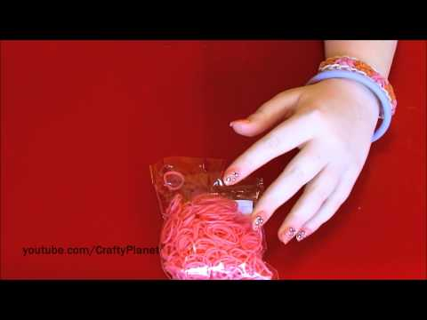 Strawberry Rainbow Loom Rubber Band Haul – Rubber Band Bracelets Rings Charms and More Twistz Bandz