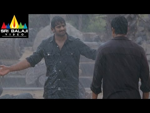 Mirchi Movie Prabhas Super Action Scene in Rain | Prabhas, Anushka, Richa | Sri Balaji Video