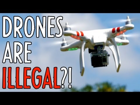 Aerial Video is ILLEGAL?!
