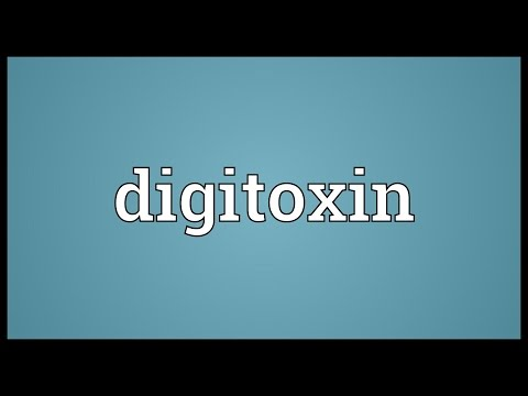 Digitoxin Meaning