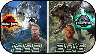 Video EVOLUTION of Jurassic Park MOVIES (1993-2018) History of jurassic world 2 fallen kingdom MP3, 3GP, MP4, WEBM, AVI, FLV Juni 2018