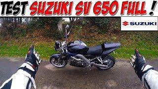 Salut tout le monde ! VOici donc un nouveau test moto : SV 650 Pour me suivre sur facebook viens donc likez ma page...