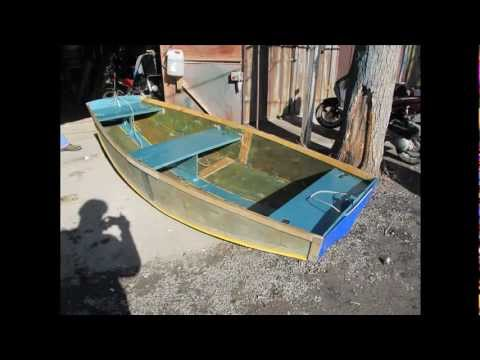 пол в лодку из пенопласта