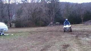10. Suzuki Z250 Quadsport Wheelies