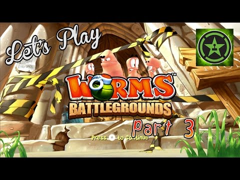Let's - Geoff, Jack, Michael, and Gavin return with the third installment of Let's Play - Worms Battlegrounds. RT Store: http://roosterteeth.com/store/ Rooster Teeth...