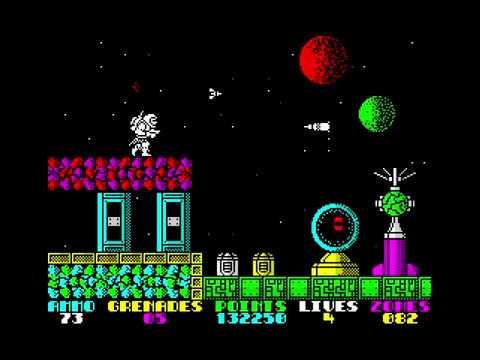 Exolon. ZX Spectrum. Прохождение