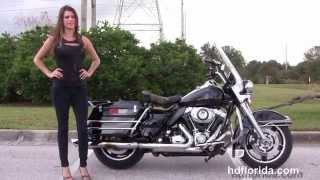 10. Used 2009 Harley Davidson Road King Police Motorcycles for sale