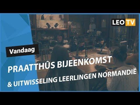 Fraachpetear fan omrop LEO mei listlûker Jan Willem Tuininga