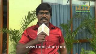 Senthil at Thiru Vi Ka Poonga Movie Team Interview