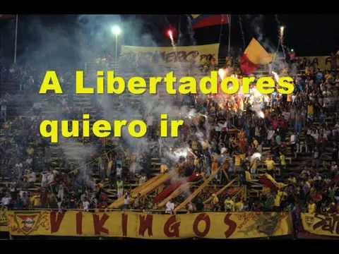 A Libertadores quiero ir - Los Vikingos - Aragua - Venezuela - América del Sur