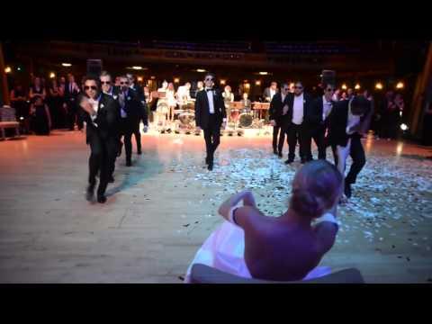 ქმრის სიურპრიზი ქორწილში (ვიდეო)