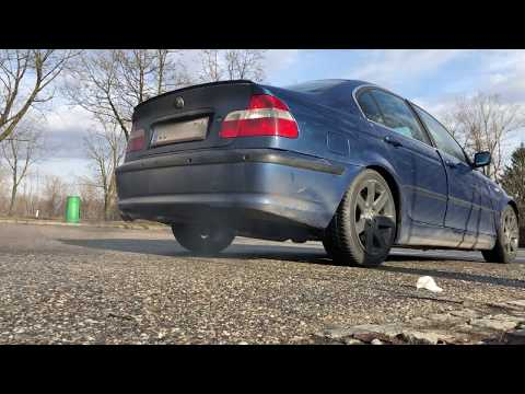 330d e46 straight pipe antilag