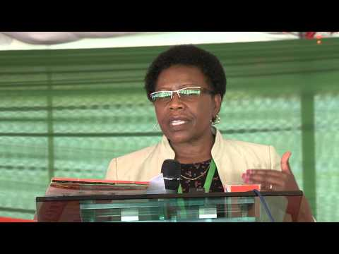 Anne Mbaabu speech highlights at Cassava & Sweet Potato Symposium