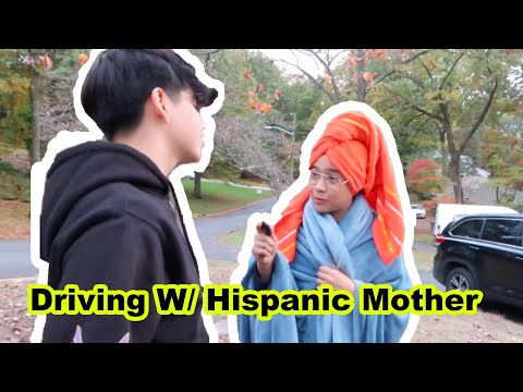 DRIVING WITH HISPANIC MOM (SKIT) #FAZE5 TOP 100 SUBMISSION