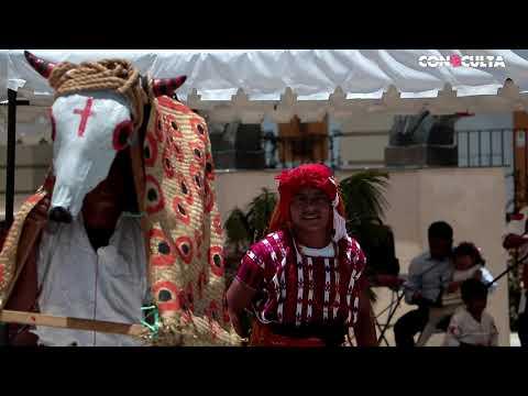 Muestra de Culturas Vivas de la ceremonia tradicional Maya y música