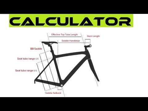 Best Online Bike Fit Calculator - How To Choose The Right Bicycle Frame Size.