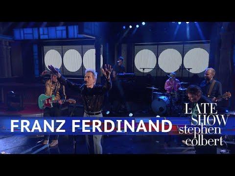 FRANZ FERDINAND W PROGRAMIE TELEWIZYJNYM