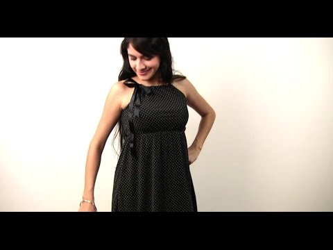 How To Make A Dainty Little Cocktail Dress