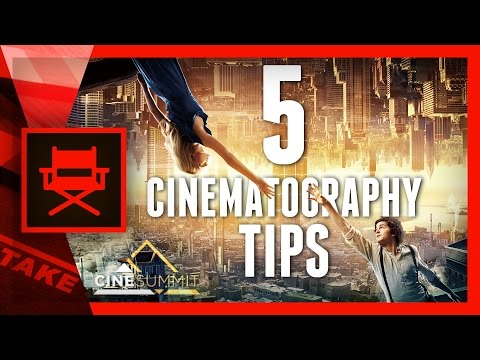 5 CINEMATOGRAPHY Tips from PIERRE GILL (CineSummit) | Cinecom.net