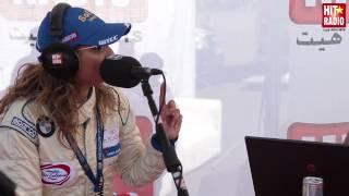 SAMIRA BENNANI EN DIRECT DU MGP SUR HIT RADIO (2)