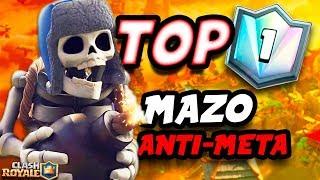 El top 1 del mundo de Clash Royale juega con un mazo anti-meta de Gigante Esqueleto! Brutal!▶Dejadme vuestro LIKE y SUSCRIBIROS si os ha gustado!http://goo.gl/SpByBU ✔▶Sígueme en mis Redes Sociales!● Twitter - https://twitter.com/XheoGaming● Instagram - https://www.instagram.com/xheo_official/●Correo de contacto: xheogaming@gmail.com▶Mis Series:★Los Mejores Mazos:https://www.youtube.com/watch?v=PBmU9f_0VXw&list=PLtX_9JrnThGpPS7W9j7YsONz1keUYYXEu★Secretos Ocultos y Curiosidades: https://www.youtube.com/watch?v=WbCcBiQISDo&list=PLtX_9JrnThGpp-TPh3EHBD5N9EX9F7GuF★Abriendo Cofres:https://www.youtube.com/watch?v=l7v-X9T-vt8&list=PLtX_9JrnThGqz5pZOJhPDjNds_-YAbHNP★Lo Mas Épico: https://www.youtube.com/watch?v=UG3NmnlmwTA&list=PLtX_9JrnThGq5myAtWcKQxCP_bQqykzPL★Consigue MILES DE GEMAS 100% Gratis! Descarga la aplicacion WHAFF e introduce el código: XHEO111 para poder hacer sorteos y mucho más!► ¿QUIERES LAS MEJORES GAFAS DE SOL DEL MERCADO?Pincha aquí y consigue un 25% de descuento en las series Original y Moon en AFTER Sunglasses: https://www.aftersunglasses.com/xheo▶ Donaciones: paypal.me/xheogamingTodo lo donado es agradecido y se invertirá en mejorar el canal!