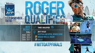 Look back on a phenomenal first half of the season for Roger Federer, who is the second player to qualify for the eight-man field at the Nitto ATP Finals.
