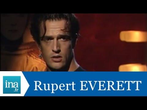 Rupert Everett répond à Rupert Everett - Archive INA