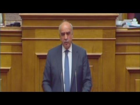 """Για """"νεοφιλελεύθερη και ανάλγητη αριστερά έκανε λόγο ο κ. Μεϊμαράκης"""""""