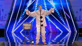 America's Got Talent 2017 Puddles Pity Party From Out of Nowhere Full Audition S12E01