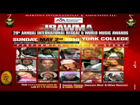 The 29th International Reggae & World Music Awards (IRAWMA)
