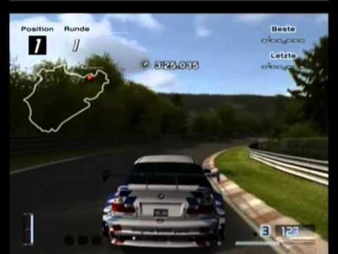 Gran Turismo 4 Nürburgring Hot Lap BMW M3 GTR Race car 5.48.638